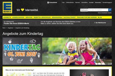 "Seltsame Sonderangebote zum ""Kindertag"""