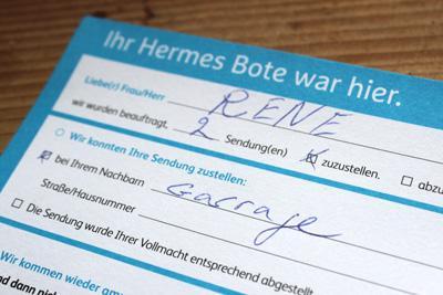 Hallo Hermes, wo ist mein Paket?