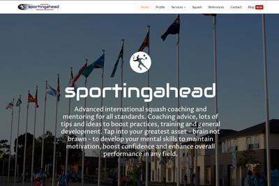 New Website for international Squash Coach